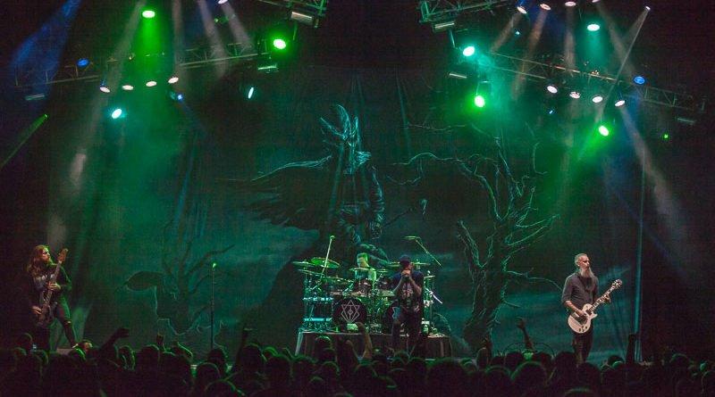 In Flames Sets Hard Rock Live Ablaze