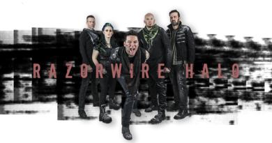 "RAZORWIRE HALO Release Official Lyric for ""RED""!"