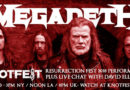 KNOTFEST.COM TO STREAM MEGADETH LIVE PERFORMANCE