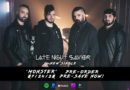 LATE NIGHT SAVIOR Sign with ROCK SHOP RECORDS