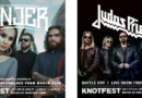 KNOTFEST CONCERT STREAMING SERIES TO BROADCAST LIVE SHOWS FROM JINJER LIVE IN MELBOURNE 2020 Thursday, July 9th At 2pm PT / 5pm ET / 10pm BST / 11 pm CET & JUDAS PRIEST LIVE FROM WACKEN 2015 Friday, July 17th At 12pm PST / 3pm EST / 8pm GMT/ 9pm CET