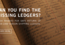 Gibson: Launches Search for Missing 1959-1960 Shipping Ledger  Gibson to Award $59,000.00 Cash For The Safe Return Of Historic 1959 Book Which Disappeared From Gibson Archives 30 Years Ago