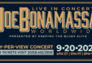 Joe Bonamassa Live Stream Pay Per View from Ryman Auditorium Sept 20; Performing new album 'Royal Tea' in FULL before release