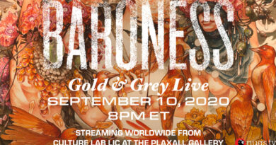 "Baroness Give Us Their Highly Acclaimed ""Gold & Grey"" Album In Special Live Stream"