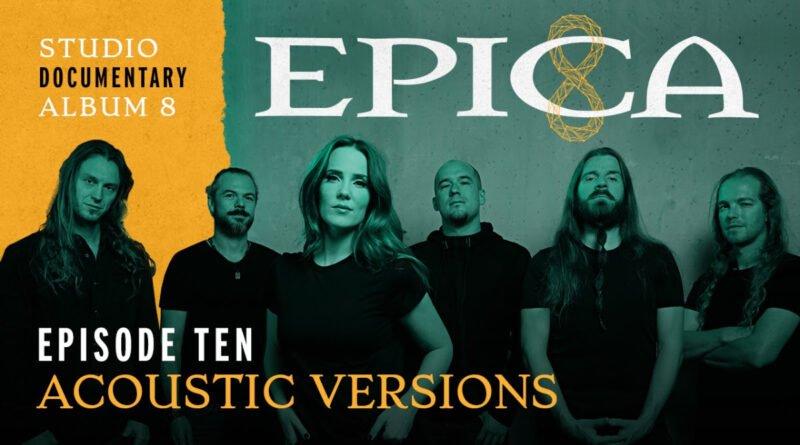 EPICA – Launches 10th Studio Vlog Episode!