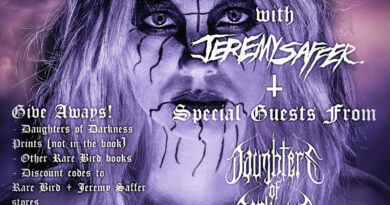 Esteemed Photographer Jeremy Saffer to Host Virtual Daughters of Darkness Book Release Party Tonight