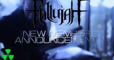 FALLUJAH WELCOMES NEW GUITARIST!