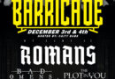 "We Came As Romans Free Live Performance Event ""The Barricade"" Set For 12/3"