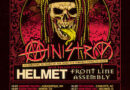 """Ministry's """"Industrial Strength Tour"""" Moves To Oct/Nov 2021; Celebrating 30 Years Of """"The Mind Is A Terrible Thing To Taste"""" With Front Line Assembly & Helmet"""