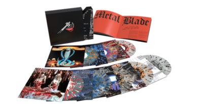 Vinyl Me, Please announces Metal Blade vinyl box set: limited edition 'VMP Anthology: The Story of Metal Blade'
