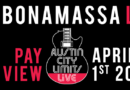 Joe Bonamassa announces fan-curated livestream event at Austin City Limits Live, April 1 @ 9pm ET