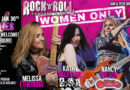 Melissa Etheridge, Nancy Wilson, Kathy Valentine and Orianthi Join Together at First Ever – WOMEN ONLY – Rock 'n' Roll Fantasy Camp