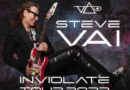 Steve Vai Announces 2022 U.S. Tour with 54 Scheduled Appearances – New Music Coming